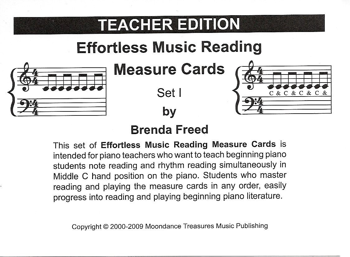 Measure Card - Teacher Ed